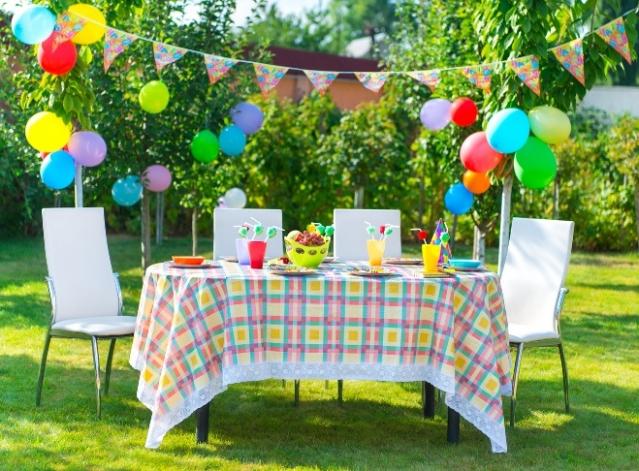 Как украсить дачу на день рождения ребенка