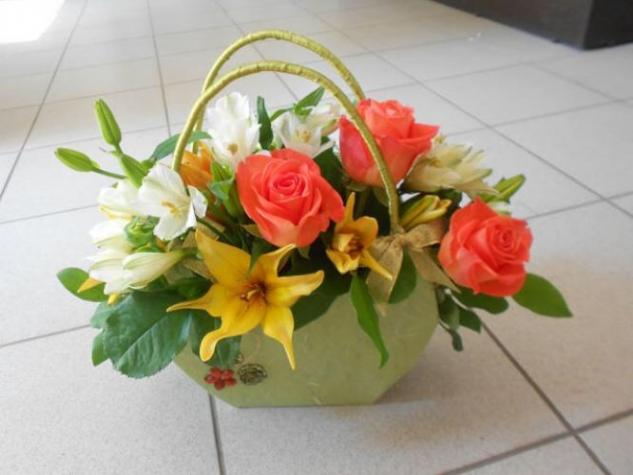 Сумочка для цветов